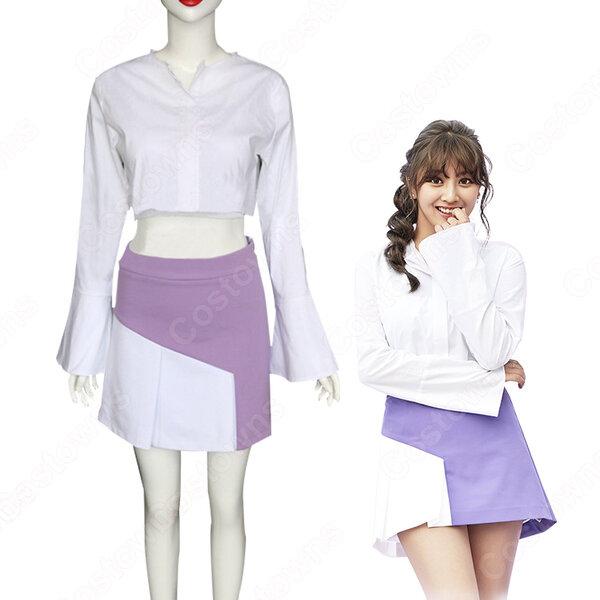 TWICE(トゥワイス) ジヒョ パク・ジヒョ 衣装 通販 「TT」 ステージ服 MVダンス服 アイドル制服元の画像