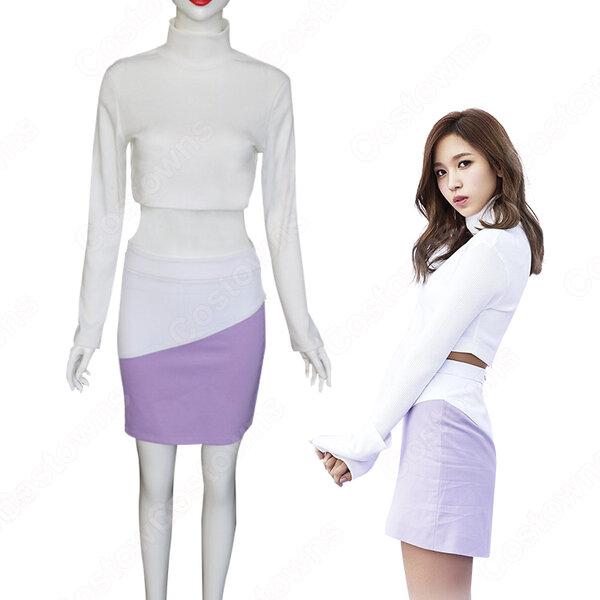 TWICE(トゥワイス) ミナ(みょうい みな) 衣装 通販 「TT」 MVダンス服 ステージ服 アイドル制服元の画像
