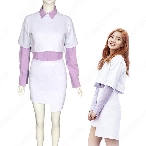 TWICE(トゥワイス) ダヒョン キム・ダヒョン 衣装 通販 「TT」 MVダンス服 ステージ服 アイドル制服元の画像