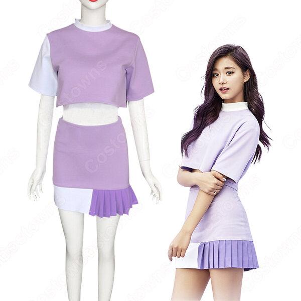 TWICE(トゥワイス) ツウィ チョウ・ツーユィ 衣装 通販 「TT」 MVダンス服 ステージ服 アイドル制服元の画像