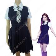BLACKPINK(ブルピン) ジス キム・ジス 衣装 通販 「AS IF IT'S YOUR LAST」 MVダンス服 ステージ服 アイドル制服