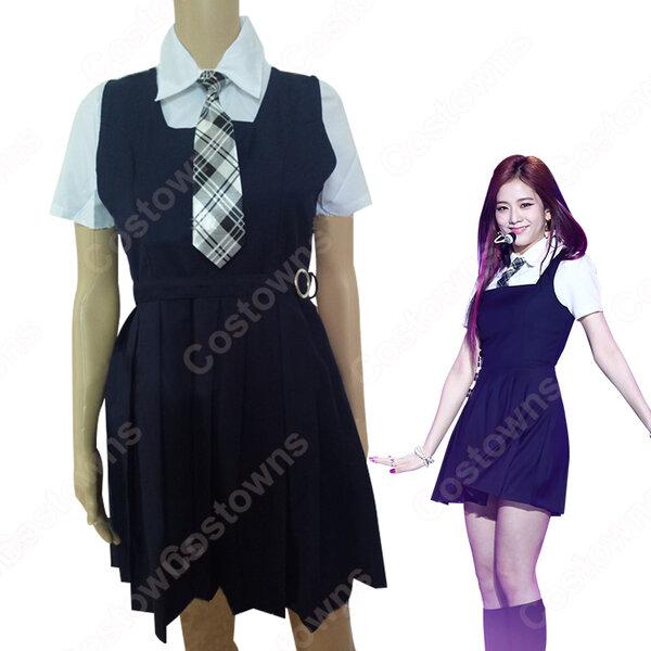 BLACKPINK(ブルピン) ジス キム・ジス 衣装 通販 「AS IF IT'S YOUR LAST」 MVダンス服 ステージ服 アイドル制服元の画像