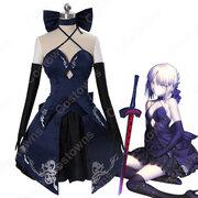 アルトリア・ペンドラゴン (あるとりあぺんどらごん) コスプレ衣装 『Fateシリーズ(Fate/Grand Order、Fate/staynight、Fate/Zero)』の登場人物の仮装 コスチューム