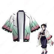 胡蝶しのぶ (こちょうしのぶ) 羽織 フリーサイズ、大人用、子供用 3サイズ コスプレ衣装 『鬼滅の刃』の登場人物の仮装 コスチューム