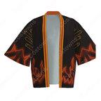 螺旋丸 (らせんがん) 羽織 着物 マント コスプレ衣装 『NARUTO -ナルト-』の登場人物の仮装 コスチューム