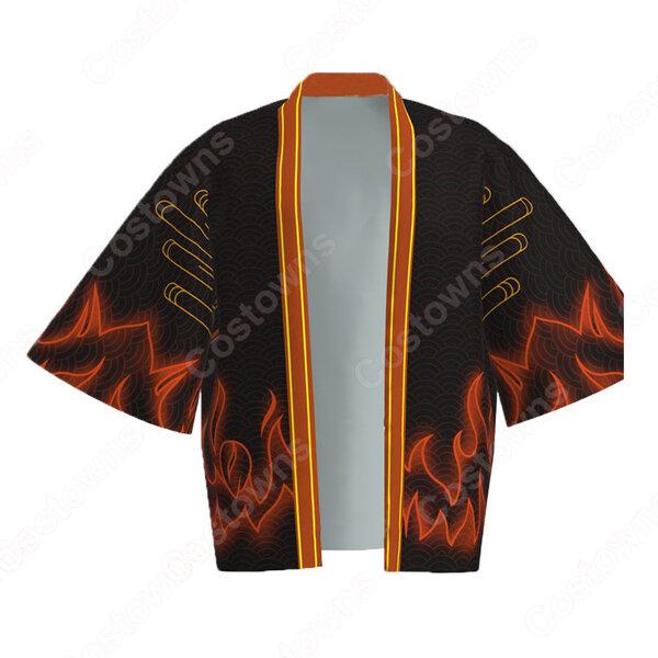 螺旋丸 (らせんがん) 羽織 着物 マント コスプレ衣装 『NARUTO -ナルト-』の登場人物の仮装 コスチューム元の画像