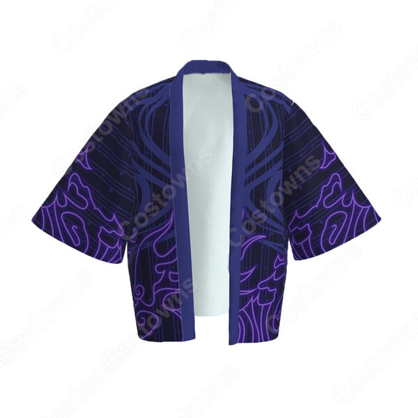 須佐能乎(すさのお) 羽織 着物 マント コスプレ衣装 『NARUTO -ナルト-』の登場人物の仮装 コスチューム元の画像