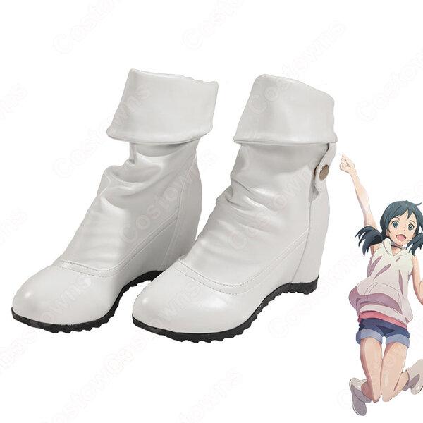 晴れ女 天野陽菜 コスプレ靴 『天気の子』の登場人物の靴元の画像