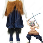 嘴平伊之助 (はしびらいのすけ) コスプレ衣装 『鬼滅の刃』鬼殺隊隊服