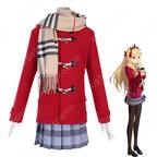 『Fate/Grand Order』 ローソン コラボキャンペーン エレシュキガル コスプレ衣装 FGO 学園風 冬 日常服 仮装 コスチューム セット