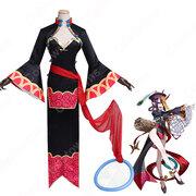 酒呑童子(しゅてんどうじ)コスプレ衣装 『Fate/GrandOrder』ゾンビ娘 パープル cospaly衣装 オーダーメイド