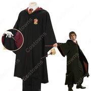 ホグワーツ魔法魔術学校 ローブ スリザリン グリフィンドール レイブンクロー ハッフルパフ コスプレ衣装 『ハリーポッター』变装 コスチューム