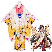 Fate grand order 両儀式 和服 コスプレ衣装『空の境界』りょうぎ しき 英霊 三破 着物 衣装 変装 コスチューム