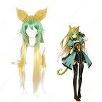 アタランテ コスプレ 高品質耐熱 ウィッグ『Fate/Grand Order』かつら ウィッグネット付 変装用 専用