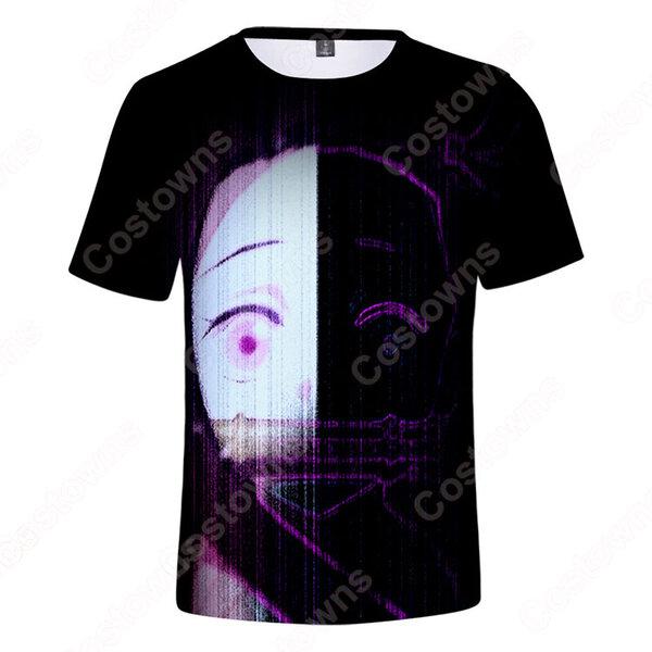 『鬼滅の刃』グッズ Tシャツ アニメ プリント 半袖 かわいい 柔らかい uネック 記念シャツ 男女兼用元の画像