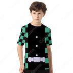 『鬼滅の刃』グッズ Tシャツ アニメ プリント 半袖 uネック 記念シャツ かわいい 柔らかい 人気 Tシャツ おおきいサイズ おしゃれ トップス 男女兼用