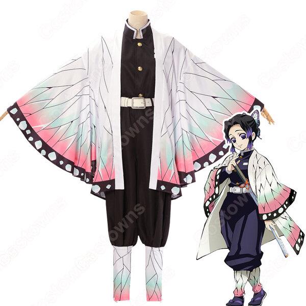 胡蝶しのぶ(こちょうしのぶ) コスプレ衣装 【鬼滅の刃】 cosplay 蟲柱 隊服元の画像