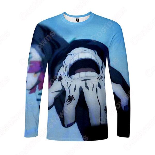 無限列車編 長袖 Tシャツ 鬼滅の刃 記念シャツ おしゃれ ティーシャツ 誕生日プレ ゼント元の画像