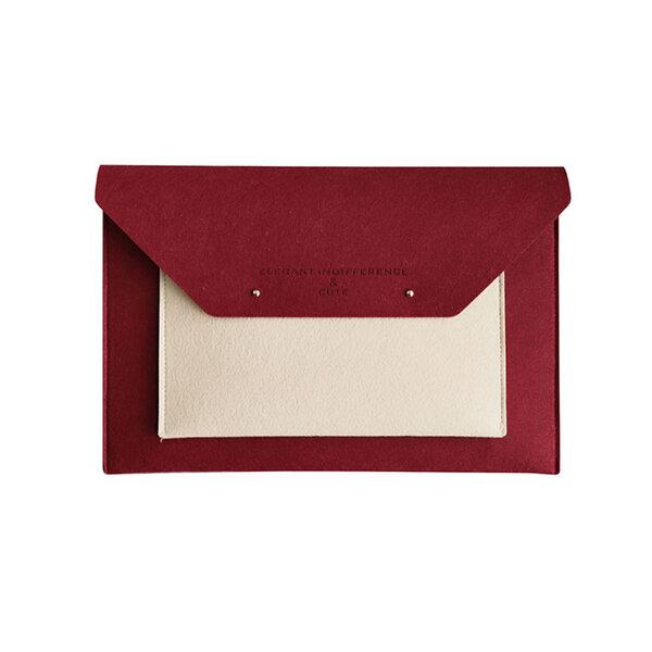 Costowns ブリーフケースA4 大きめセカン ドバッグ メンズ レディース バッグ 手持ち ペンホルダー付15.6インチ ipadpro 収納可 ビジネス封筒袋 資料ケース ct-01元の画像