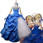 Fate/Grand Order アルトリア・ペンドラゴン 10周年記念 ドレス コスプレ衣装 Saber (セイバー) コスチューム