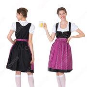 オクトーバーフェスト メイド服 ビールガール コスプレ 衣装 ハロウィン イベント コスチューム 民族衣装