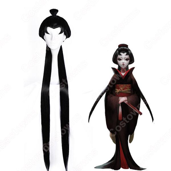 IdentityⅤ 第五人格 芸者 美智子 紅蝶 コスプレウィッグ アイデンティティファイブ 女性ハンター コスプレ wig元の画像