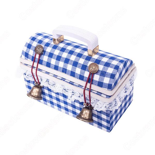IdentityⅤ 第五人格 庭師 エマ・ウッズ 少女達の確執 工具箱 ツールボックス 収納ボックス コスプレ道具 イデンティティファイブ ハンター コスチューム 小物元の画像