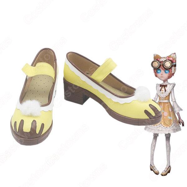 アイデンティティV 【IdentityV 第五人格】 サバイバー 機械技師 トレイシー・レズニック キャンディー少女 コスプレ靴/ブーツ/ハイヒール 安い 通販元の画像