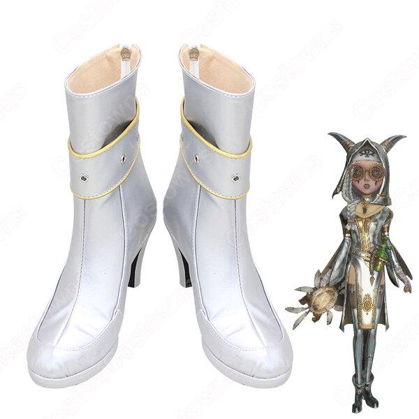 第五人格 IdentityV アイデンティティV 祭司 フィオナ・ジルマン 明日の光 風 コスプレ靴/コスプレブーツ/ブーツ COSPLAY 道具元の画像