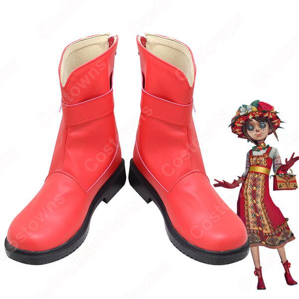 庭師(エマ・ウッズ) 羅刹緋春 コスプレ靴 コスプレブーツ アイデンティティV【第五人格 IdentityV】 ゲーム風 ブーツ 靴 COSPLAY 道具元の画像