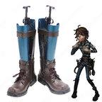アイデンティティV 囚人 ルカ・バルサー コスプレ靴 ブーツ 戦闘靴 【IdentityV 第五人格】 cosplay 初期衣装 スキン 靴 道具 ハロウィーンやアニメの展示会に適