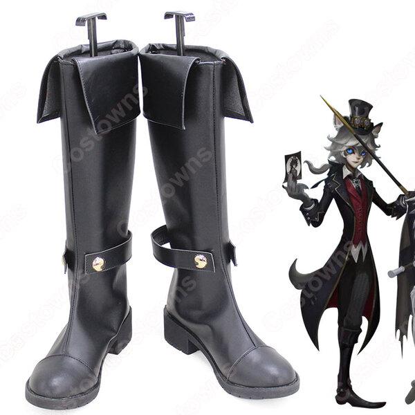 IdentityV 第五人格 写真家(しゃしんか) ジョゼフ 月下の紳士 コスプレ靴/ブーツ イデンティティV COSPLAY ハンター スキン 靴 道具 オーダメイド可元の画像