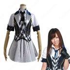 AKB48 RIVER 河西智美 MVダンス服 かさい ともみ風 コスプレ衣装 アイドル ダンス服 MV衣装 AKB48 制服 リバー PV コス服