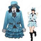 AKB48 君のC/W 高城亜樹 風 コスプレ衣装 アイドル ダンス服 PV コス服 たかじょう あき アイドル制服 スチューム 変身・仮装衣装