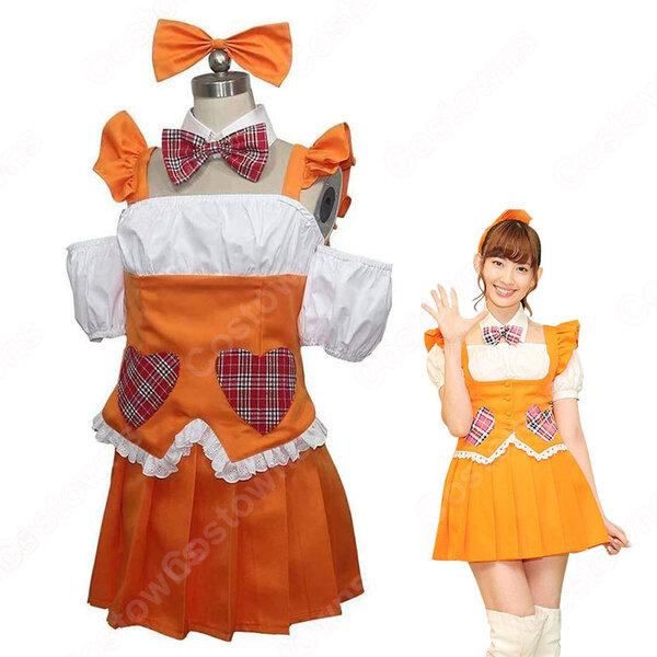 AKB48 小嶋陽菜 メグたん コスプレ衣装 メグたんって魔法つかえるの 劇中衣装 こじま はるな 風 コス服 仮装 オーダメイド可元の画像