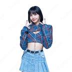 BLACKPINK(ブラックピンク) リサ(LISA) 風 ダンス 衣装 へそ出し コスプレ 衣装 人気グループ アイドル制服 ステージ服