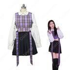 韓国 女性アイドルグループ EVERGLOW 制服 コスプレ衣装 エバーグロー 風 ジャズダンス 衣装 MVアイドル ダンス服