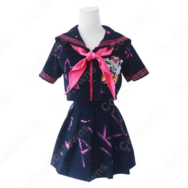 AKB48 氣志團万博 2014 セーラー服 コスプレ 衣装 オーダメイド可元の画像