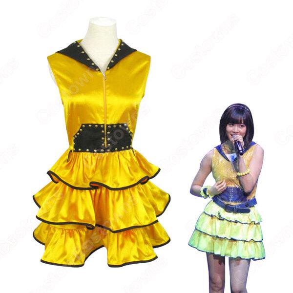 AKB48 渚のCHERRY 前田敦子 コスプレ衣装 まえだ あつこ PVコス服 アイドル制服 MV衣装 オーダメイド可元の画像