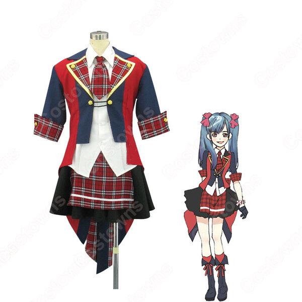AKB0048 3型目 渡辺麻友 コスプレ衣装 アイドル制服 MVダンス服 オーダメイド可元の画像
