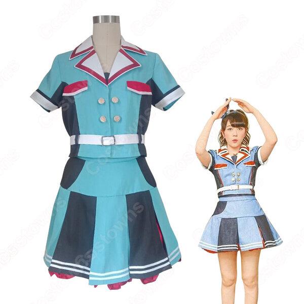 HKT48(エイチケーティー フォーティーエイト) 香港 握手会 コスプレ衣装 アイドル制服 オーダメイド可元の画像