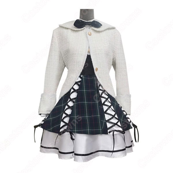 SHN48 AKB48 制服の羽根 チェック柄 コスプレ衣装 MV制服 PV コス服 オーダメイド可元の画像