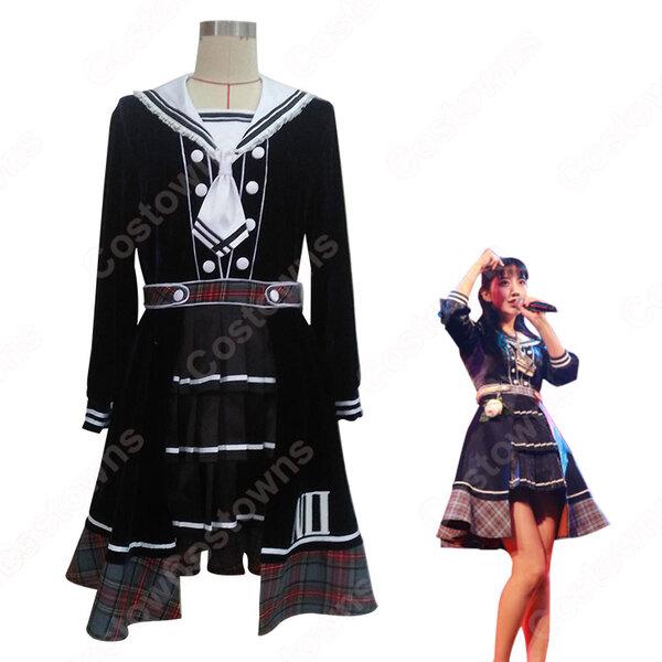 SNH48(エスエヌエイチ フォーティエイト) チームNII 7th Stage「愛の名前で」公演 ステージ服 コスプレ衣装 アイドル制服 オーダメイド可元の画像