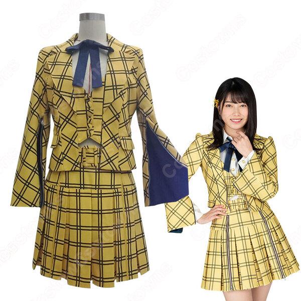 AKB48 53rd Single 「センチメンタルトレイン」(Sentimental Train) コスプレ衣装 MV制服 PV コス服 オーダメイド可元の画像
