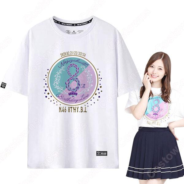 乃木坂46 8周年記念ライブ 半袖 Tシャツ元の画像