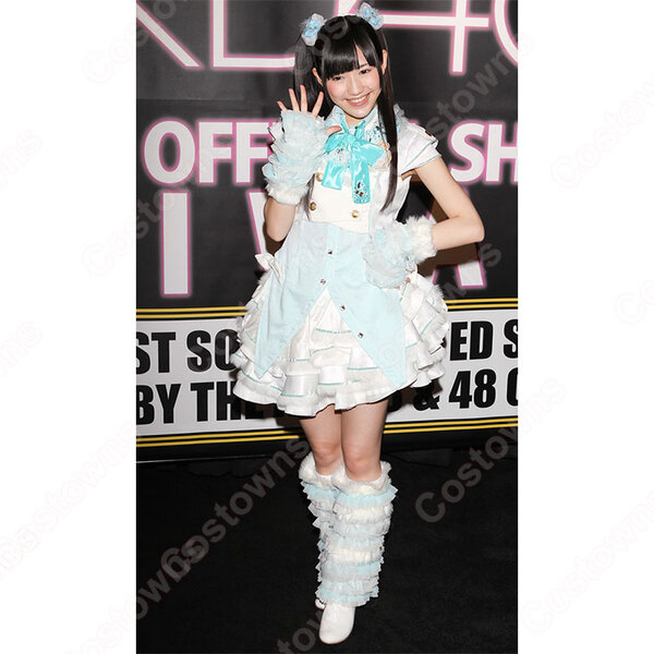 AKB48 少女たちよ(Shoujotachi yo) MVダンス服 前田敦子 渡辺麻友 コスプレ衣装 オーダメイド可元の画像