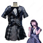 AKB48-涙は後回し+目を開けたままのファーストキス MV衣装 コスプレ衣装 MV制服