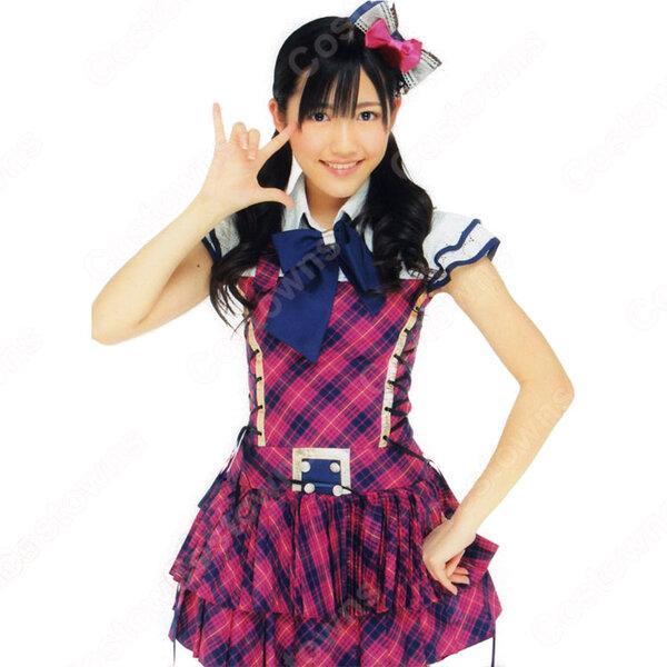 AKB48 チームB 「初日(Shonichi)」 MV制服 渡辺麻友 佐藤亜美菜 コスプレ衣装 MVダンス服 オーダメイド可元の画像