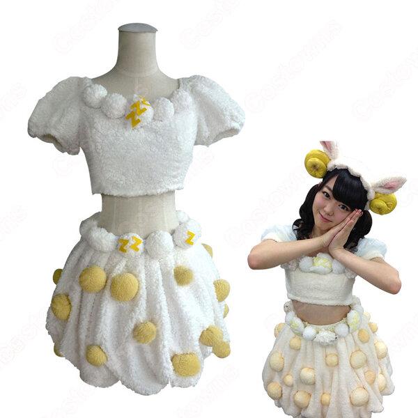 AKB48 ベストアーティスト2012 「ヘビーローテーション(Heavy Rotation)」 動物の着ぐるみ コスプレ衣装 オーダメイド可元の画像