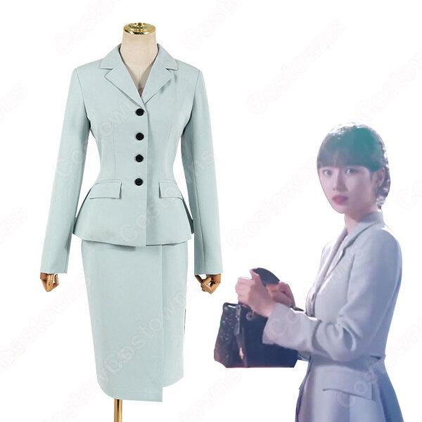 『スタートアップ: 夢の扉』(スタートアップ: ゆめのとびら) ペ・スジ コスプレ衣装 スーツ(レディース) 2点セット元の画像